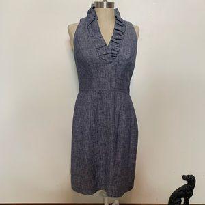 Just... Taylor Linen Blend Sleeveless Dress